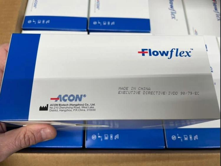 Acon Flowflex SARS-CoV-2 Antigen Rapid Test (25 pieces packed)